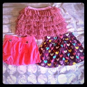 Girls 5T skirt bundle (3 Items)